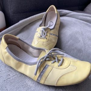 Prada shoes in size 38